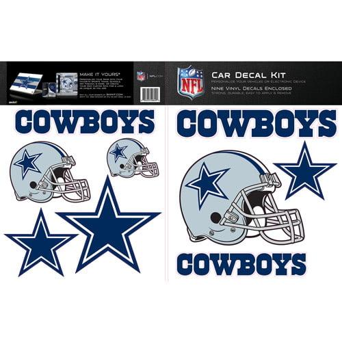 Dallas cowboys decals