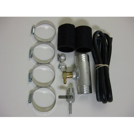 RDS Tanks 011408 Fuel Tank Gravity Feed Kit  Fits 1-3/4 Inch Fill Neck Hoses; With Valve/ Hoses/ Hose Clamps/ Fittings; For Diesel Only - image 1 of 1
