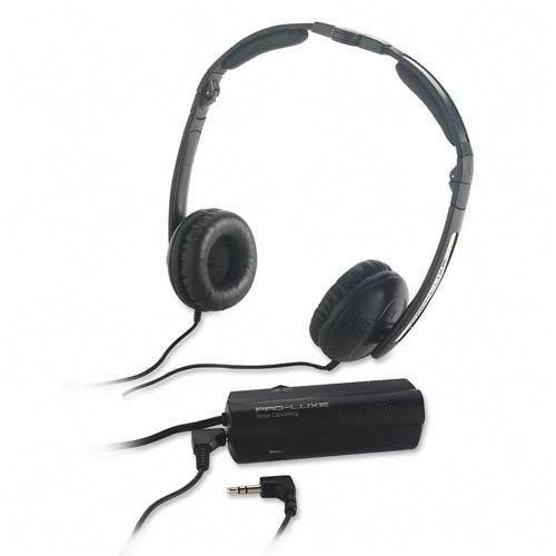 Compucessory Noise Canceling Headphone - Black - 20 Hz 20 Khz (CCS59224)