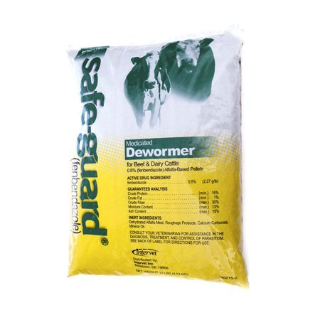 Merck Animal Safe Guard Dewormer 0 5 Alfalfa Based Pellets 10lb (Alfalfa Based Pellet)