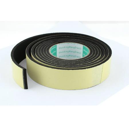 3 Meter 40mm x 5mm Single Side Adhesive Foam Sealing Tape for Door (3 Meter Adhesive Foam Tape)