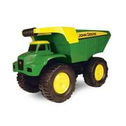 "John Deere Big Scoop Dump Truck Sandbox Toy, 21"", Toddler Toy"