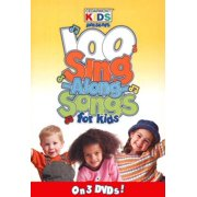 DVD-100 Singalong Songs For Kids (3 DVD) by PROVIDENT DISTRIBUTION GROUP