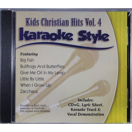 Kids Christian Hits Volume 4 Daywind Christian Karaoke Style NEW CD+G 6 Songs - Great Halloween Karaoke Songs