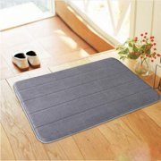 "Big Savings/Clearance,Absorbent Soft Memory Foam Bath Bathroom Bedroom Floor Shower Mat Non-slip Rug 17 ""X 24"""