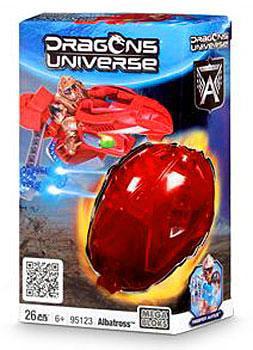Mega Bloks Dragons Universe Albatross Set #95123 by