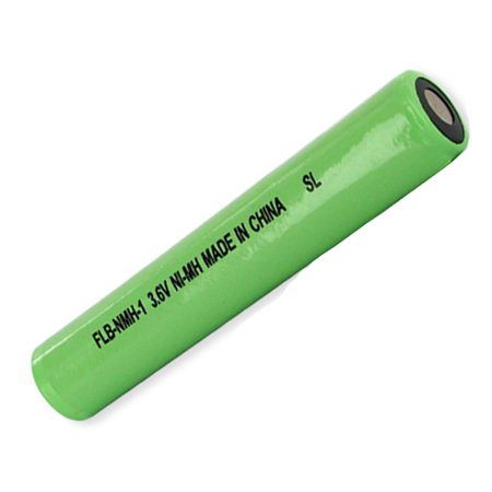 Streamlight 75375 Flashlight Battery FLB-NMH-1 (3.6V Sub C Stick, Ni-MH 2400 mAh) Battery - Replacement For Streamlight and Pelican Flashlight Battery