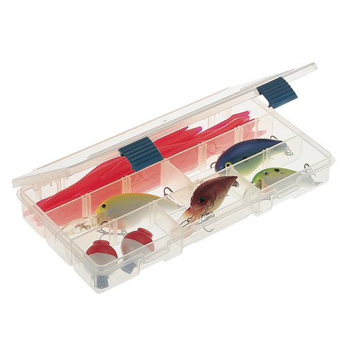 Plano Fishing ProLatch Stowaway 3500 Series Tackle Box, Clear