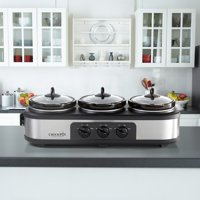 Crock-Pot Trio Cook and Serve Slow Cooker and Food Warmer Deals