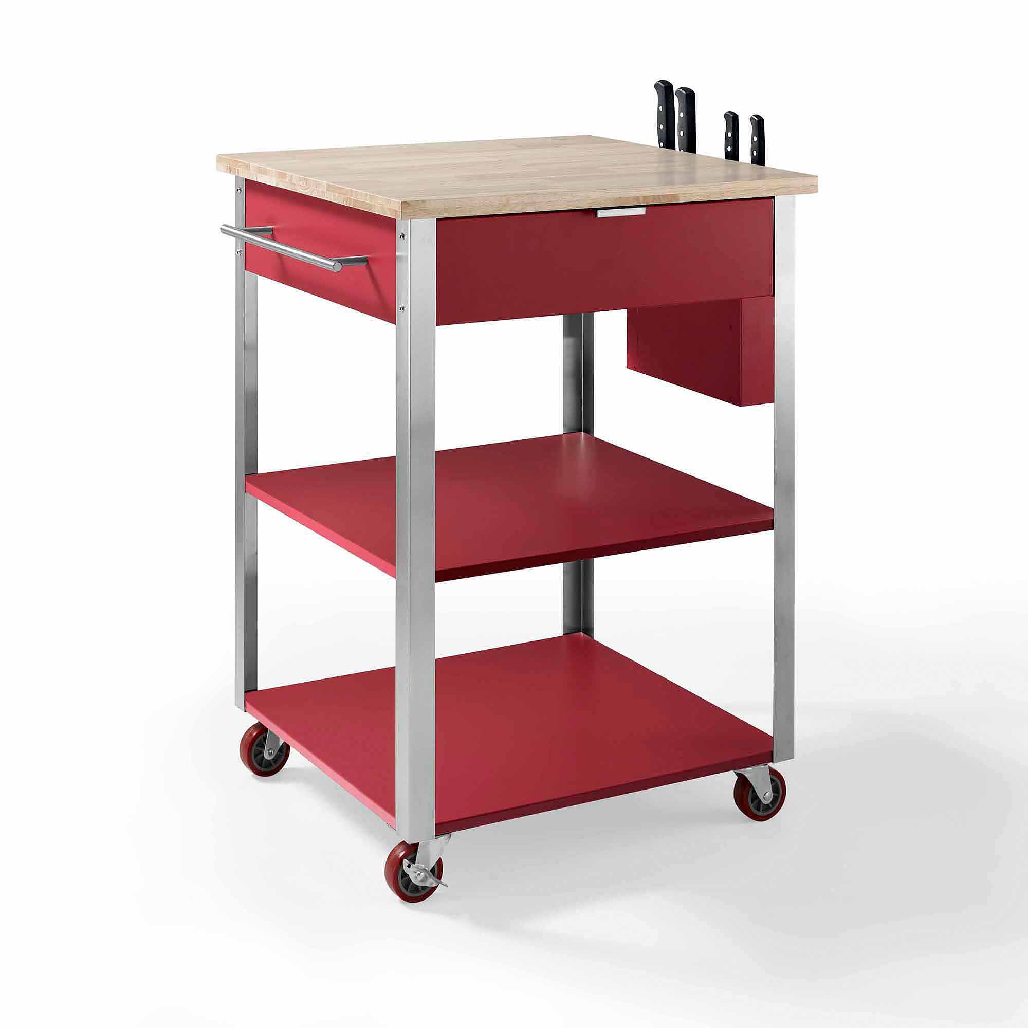 crosley furniture culinary prep kitchen cart walmart com