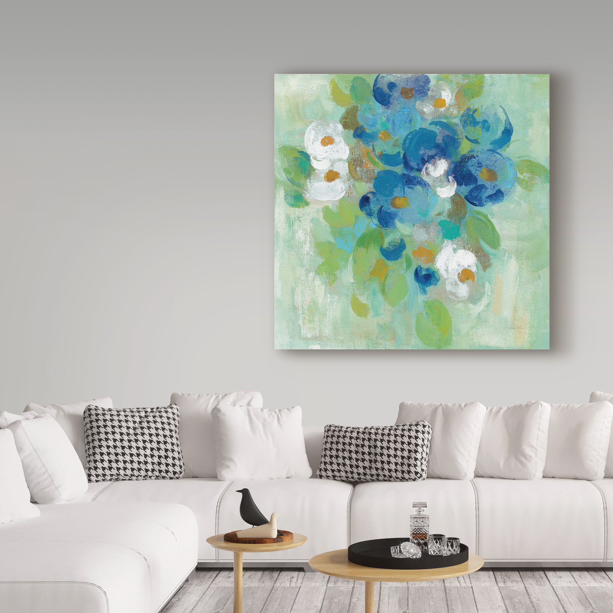 Global Gallery Silvia Vassileva Giclee Stretched Canvas Artwork 18 x 18