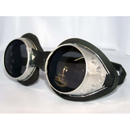 Classic Round Lens Moto Goggles Motorcycle MX Vespa Jeep Motorbike Scooter Interchangeable Lenses Steampunk -