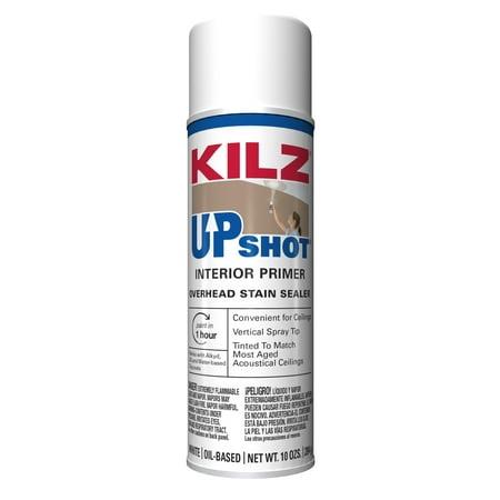 KILZ Upshot Oil-Base Interior Primer, Aerosol, 10 Oz. Interior Paint Aerosol