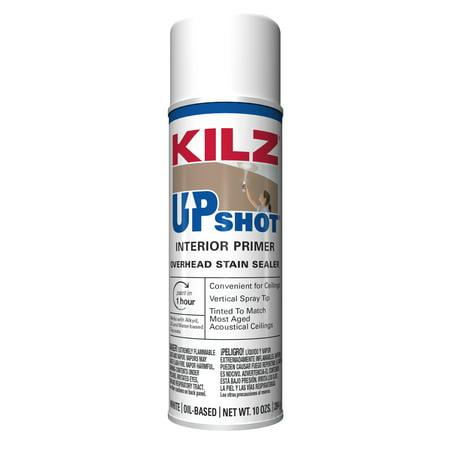 Kilz Upshot Oil-Base Interior Primer, 10 oz. (Based Aerosol)