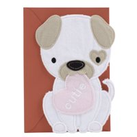 Hallmark Signature Valentine's Day Card for Kids (Cutie Puppy Dog)