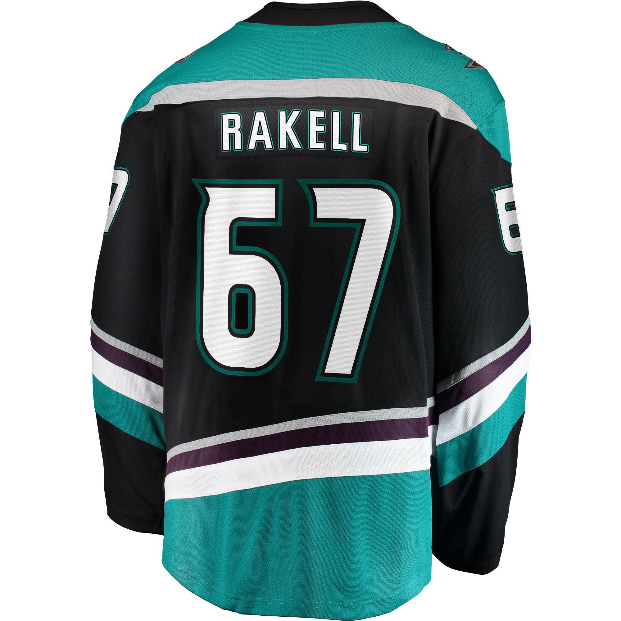 san francisco 764dd 70263 Rickard Rakell Anaheim Ducks Fanatics Branded Alternate Breakaway Player  Jersey - Black