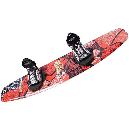 Hydroslide Black Widow Wakeboard with Chaser Binding by HydroSlide