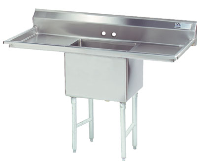 Advance Tabco 52 Fabricated One Comparment Sink () Fe-1-1620-18Rl by Advance Tabco