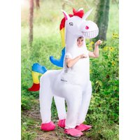 Giant Unicorn Inflatable Kids Child Halloween Costume