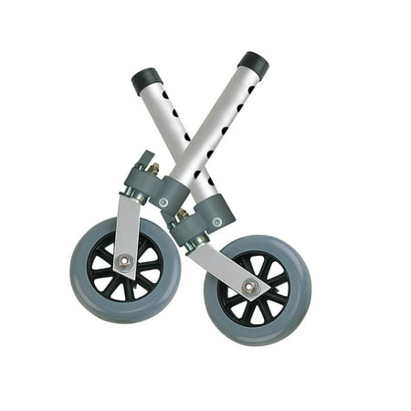 Drive Medical Swivel Lock Walker Wheels, 5
