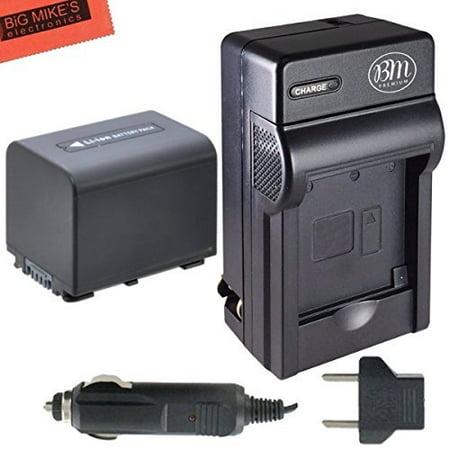 Np Fm30 Camcorder (BM Premium NP-FV70 Battery & Charger for Sony Handycam)