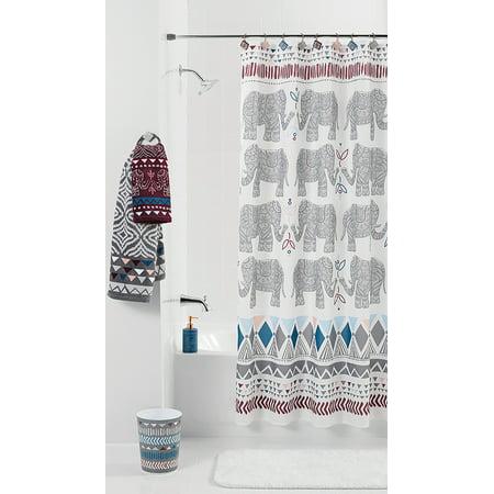 Mainstays Elephant Shower Curtain - Walmart.com