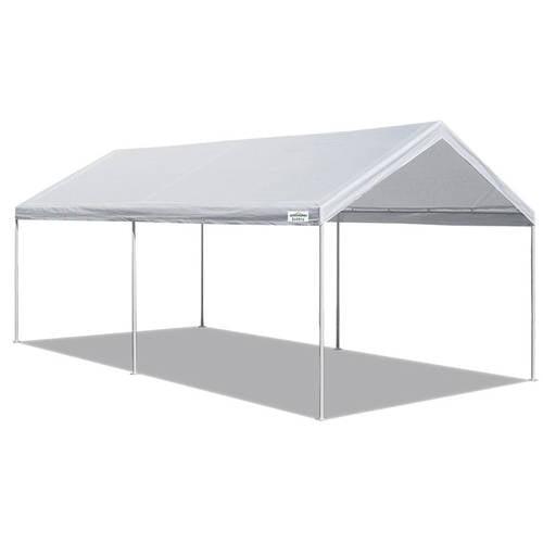Caravan Canopy Domain 10 x 20 Foot Straight Leg Instant Canopy Tent Set, White by CARAVAN CANOPY INT'L INC.