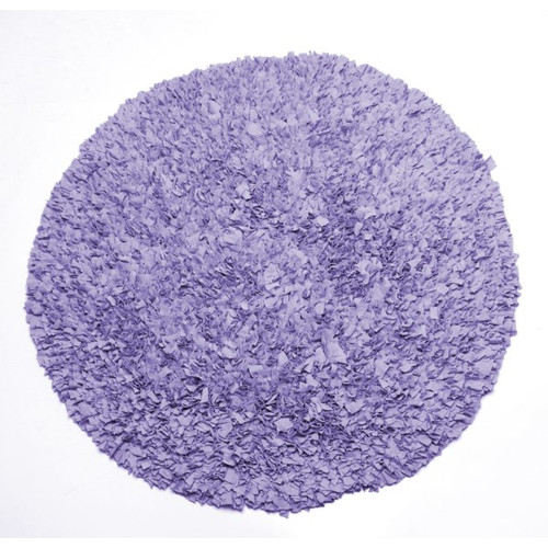 Sweet Potato by Glenna Jean Lulu Round Lavender Area Rug