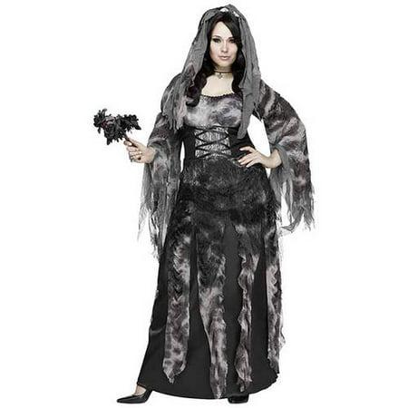 Bride Costume For Women (Women's Plus Size Bride)
