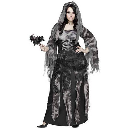 Fun World W STARLIGHT BRIDE ADULT HALLOWEEN COSTUME XL