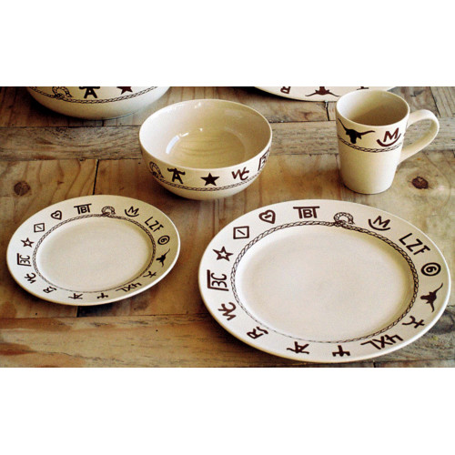 West Creation Western 16 Piece Dinnerware Set