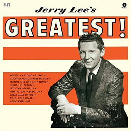 Jerry Lees Greatest  Vinyl