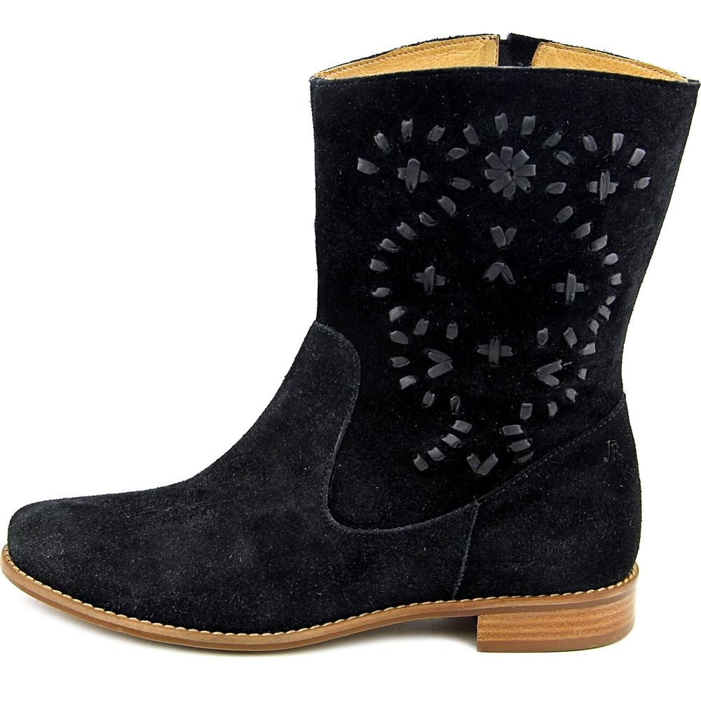Jack Rogers Kaitlin   Round Toe Suede  Mid Calf Boot