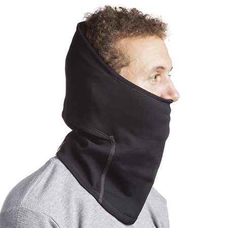 180s Shiver Neck Gaiter Warmer Moisture Wicking Active Thermal Winter Gear Unisex Black