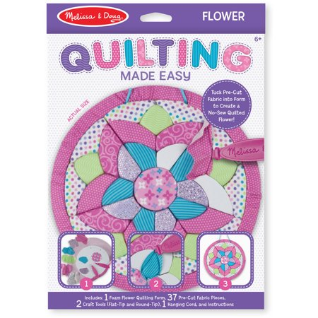 Melissa and Doug Quilting Made Easy, Flower