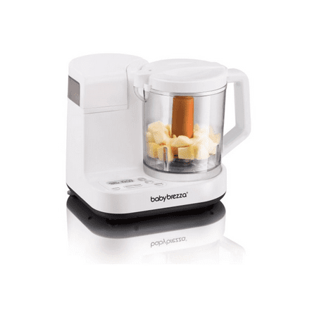 Baby Brezza 2-in-1 Baby Food Maker, Glass (Baby Brezza One Step Baby Food Maker Reviews)