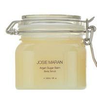Josie Maran Argan Sugar Balm Body Scrub - 10 oz in Jar - ST. TROPEZ GARDENIA