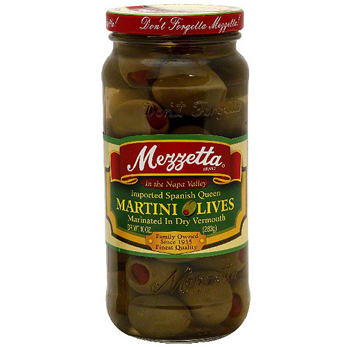 Mezzetta Spanish Queen Martini Olives, 10 oz (Pack of 6) by Generic