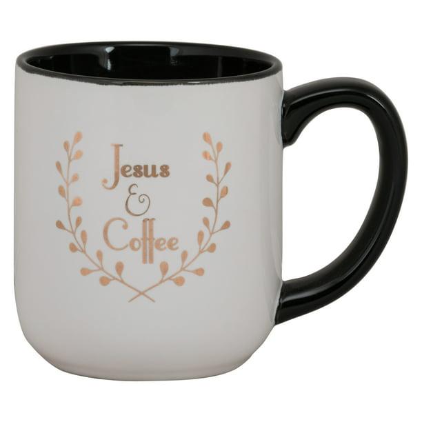 17 5 Oz Large Jesus Coffee Mug Walmart Com Walmart Com