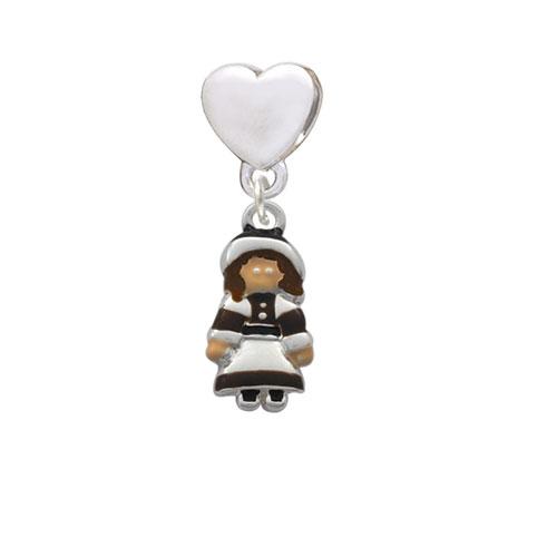 Pilgrim Girl - Heart Charm Bead