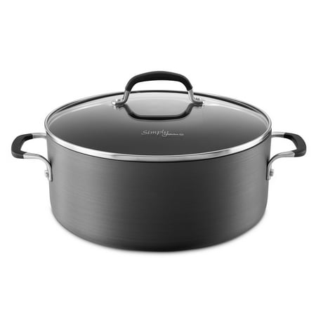 Simply Calphalon Nonstick 7-Quart Dutch Oven with Cover, 1776660