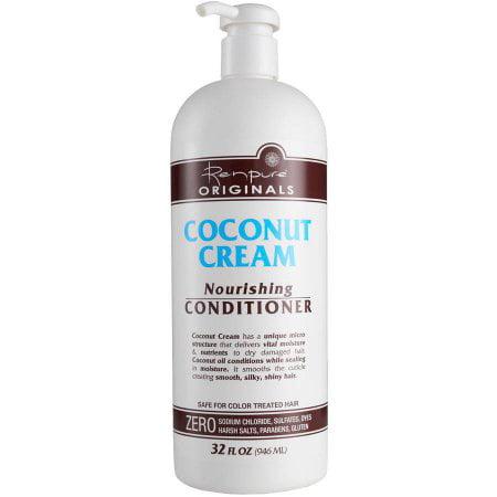 Renpure Originals Coconut Cream Nourishing Conditioner 32.0 fl oz(pack of 2)