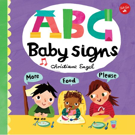 ABC Baby Signs (Board Book) - Nick Jr Halloween Abc