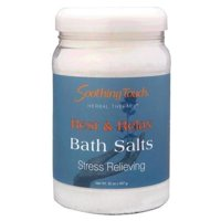 Soothing Touch Stress Relieving Bath Salts, Rest & Relax, 32 Oz