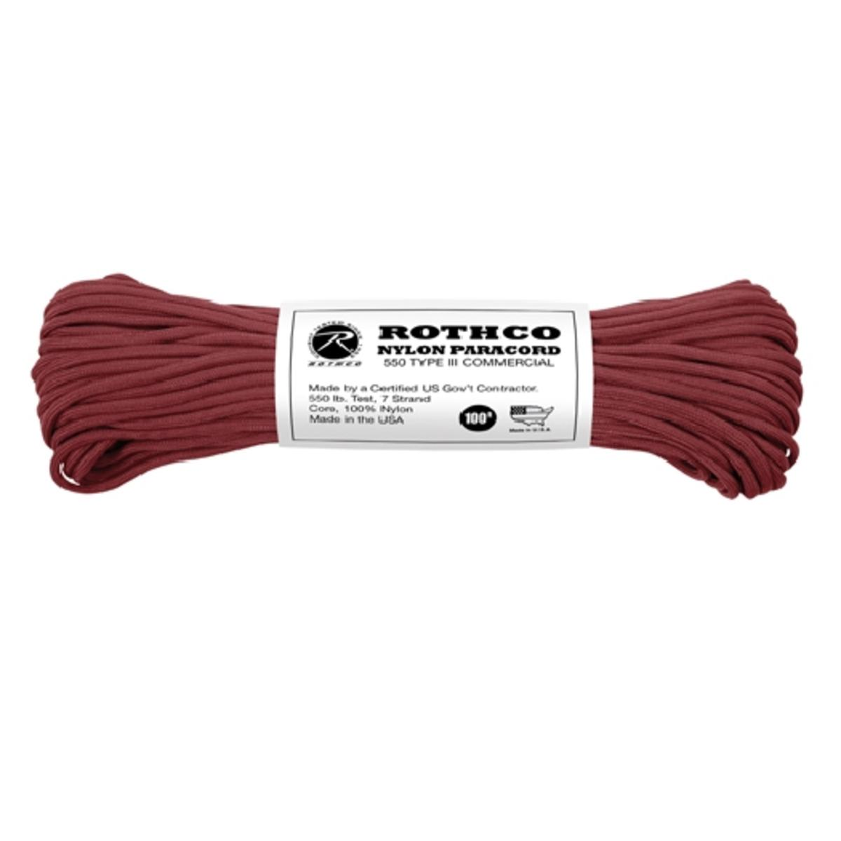 100 ft of 550 Paracord, Mil-Spec Compliant Para Cord - Walmart.com