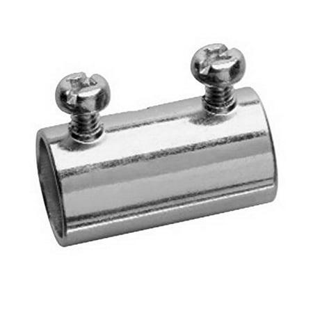 Midwest 469 4 In Steel Rigid Thin Wall Conduit Set Screw CouplingConcrete - Conduit Set Screw