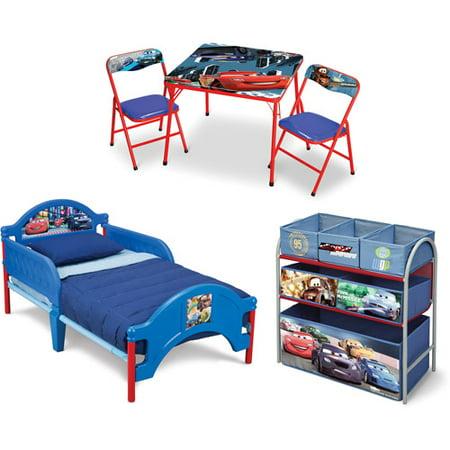 Disney 3-piece Room-in-a-box Set, Cars 3 - Walmart.com