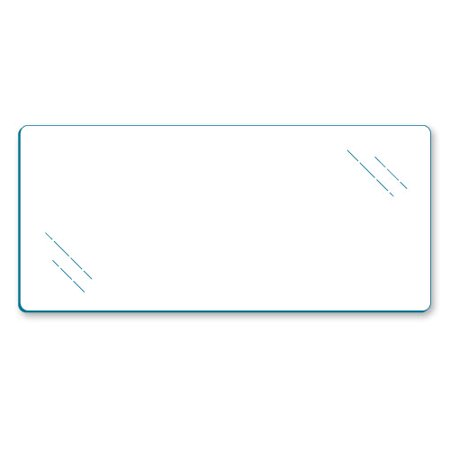"Econoco - SHGL1248 - 12"" x 48"" Tempered Glass Shelves in Pack of 5"
