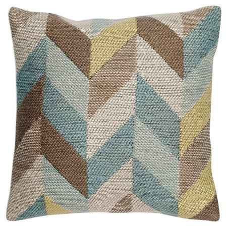 KAS Rugs Ocean Herringbone Decorative Pillow