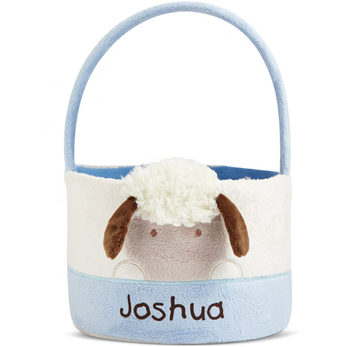 Personalized Baby's First Easter Lamb Ba